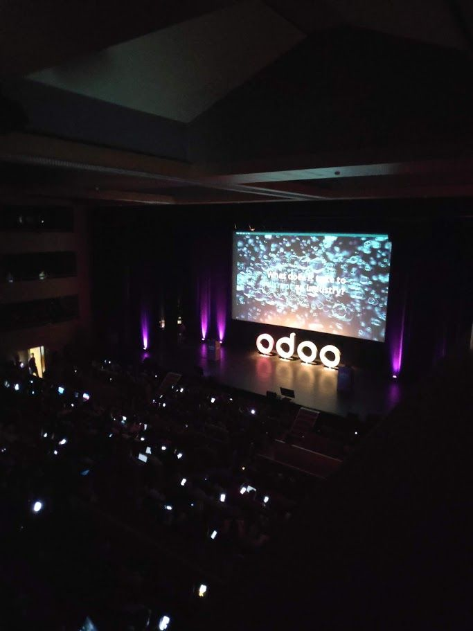 Odoo Experience 2019 - One day, slideswho